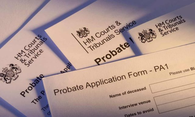 Improved Probate Application Process